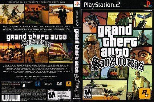 Grand Theft Auto San Andreas para Playstation 2