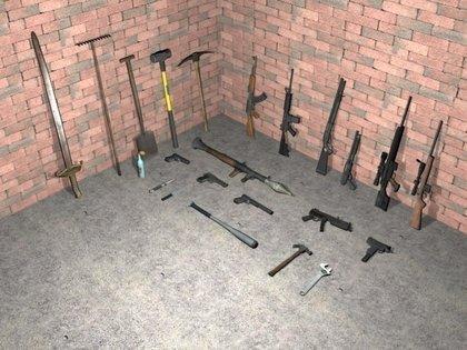 Códigos de armas do jogo GTA San Andreas