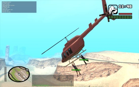 Helicoptero no GTA