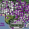Dicas para GTA San Andreas em vídeo – Mapa das Pichações