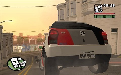 Gol da Polícia no GTA San Andreas