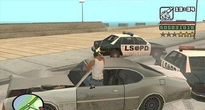 Como atirar e dirigir no GTA San Andreas e GTA IV?