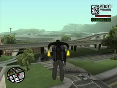 Jetpack no GTA San Andreas